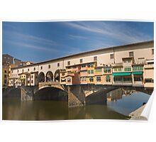 Ponte de Vecchio, Florence 2 Poster