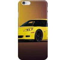 2008 Corvette Z06 Coupe iPhone Case/Skin