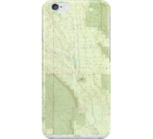 USGS Topo Map Oregon Location Butte 280559 1999 24000 iPhone Case/Skin