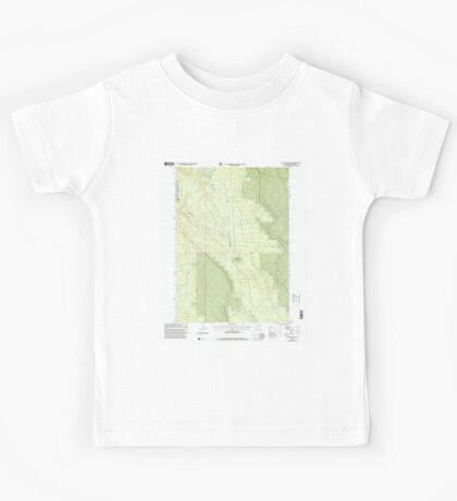 USGS Topo Map Oregon Location Butte 280559 1999 24000 Kids Tee