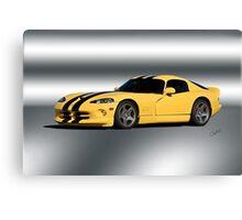 2001 Dodge Viper GTS VS1 Canvas Print