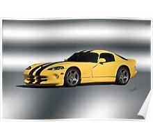 2001 Dodge Viper GTS VS1 Poster