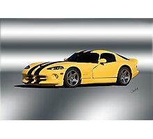 2001 Dodge Viper GTS VS1 Photographic Print