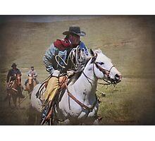 Working Riders Photographic Print