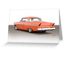 1954 Mercury Custom Hardtop I Greeting Card