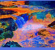 Colorful rocks and water by SGodsey