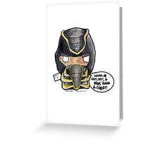 Get Over Here! DULLARD Greeting Card