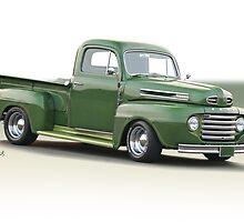 1950 Ford F100 Custom Pickup by DaveKoontz