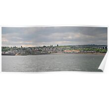 South Queensferry from the Water Poster