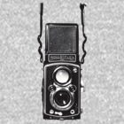 Vintage Medium Format Camera Rolleiflex Twin Lens Reflex (TLR) by AnalogSoulPhoto
