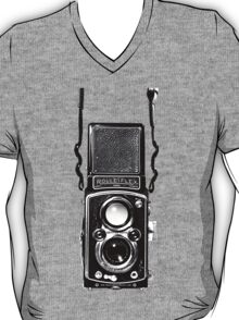 Vintage Medium Format Camera Rolleiflex Twin Lens Reflex (TLR) T-Shirt