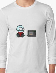 Monty Microwaves Long Sleeve T-Shirt