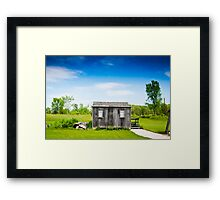 Abandoned Hut  Framed Print