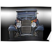 1932 Ford 'Traditional' Hot Rod Poster