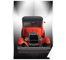 1929 Ford Model A Sedan Poster