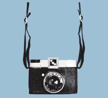 Vintage Camera Diana Plastic Toy Lomo 120 Film Kids Tee