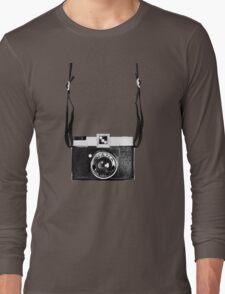 Vintage Camera Diana Plastic Toy Lomo 120 Film Long Sleeve T-Shirt