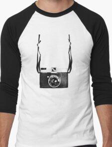 Vintage Camera Diana Plastic Toy Lomo 120 Film Men's Baseball ¾ T-Shirt