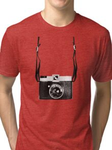 Vintage Camera Diana Plastic Toy Lomo 120 Film Tri-blend T-Shirt