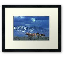 Where Heaven and Nature Meet  Framed Print