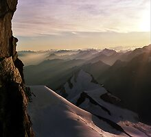 Weisshorn Sunrise by photobymdavey