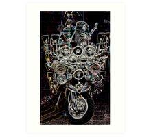 lambretta sx 200 Art Print