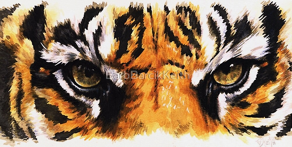 Eye-Catching Sumatran Tiger by BarbBarcikKeith