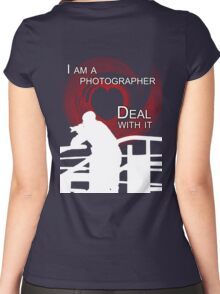 I am Photographer Women's Fitted Scoop T-Shirt