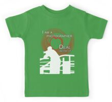 I am Photographer Kids Tee