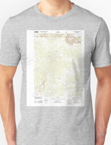 USGS Topo Map California Beaver Mountain 20120312 TM T-Shirt