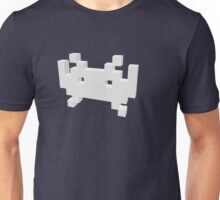 3D Space Invader Unisex T-Shirt