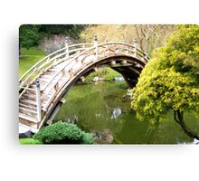 Bridge of Peace & Love Canvas Print