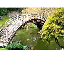 Bridge of Peace & Love Photographic Print