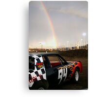 Races End! Canvas Print