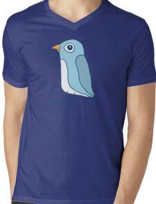 Pengu Mens V-Neck T-Shirt