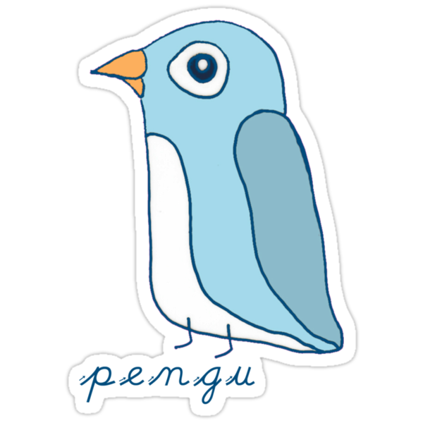 Pengu by sunset