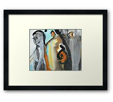 We All Know the Blues Sometimes Framed Print