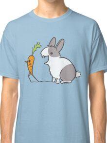 Vampire Bunny Rabbit with Unfortunate Carrot Classic T-Shirt