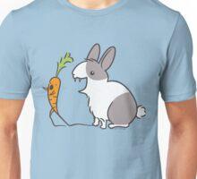 Vampire Bunny Rabbit with Unfortunate Carrot Unisex T-Shirt