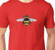 Yellow and Black Stripes Bumblebee Bug Unisex T-Shirt