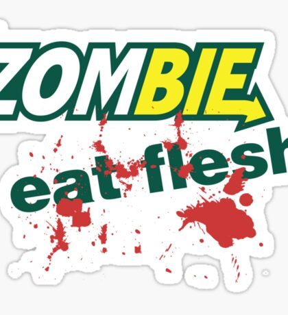 Zombie: Eat Flesh! Sticker