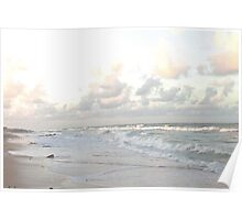 Washington Oaks State Park Sunset Poster