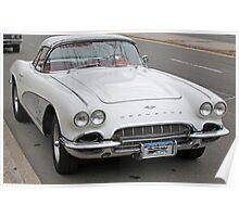 Old 1962 Corvette- full Poster