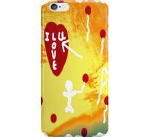 Floating Heart Strings iPhone Case/Skin