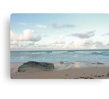 Rock on the Shore Canvas Print
