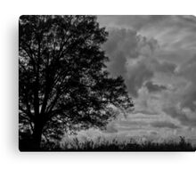 Ominous Stormfront Canvas Print