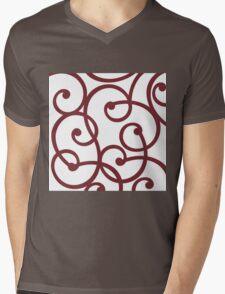 Arched Mens V-Neck T-Shirt