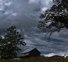Storm Clouds Over the Farmstead by Andy Whitfield