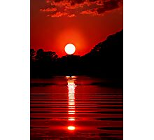 White Hole Sun Photographic Print