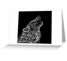 white fang  Greeting Card